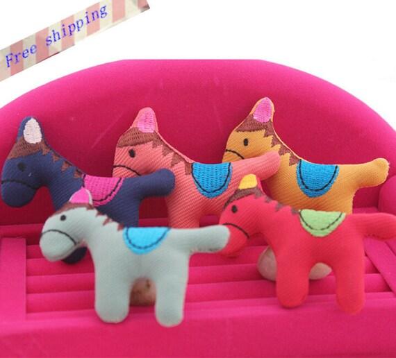 15st Stoff Pferd Spielzeug Schnittmuster DIY Tier Dekoration | Etsy