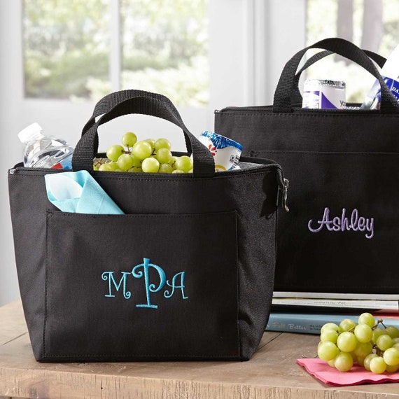 Personalized Lunch Tote   Bridesmaid Gift  Insulated Lunch