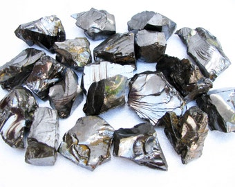 ELITE Shungite Natural raw rough 150 gr fraction 5-10 Healing Water - RUSSIA