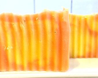 Cold Process Jasmine Flower Moisturizing Soap Bar