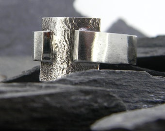 Sterling Silver Signet Ring for Men - can be personalised