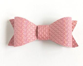 Pink Bow, Baby Headband, Hair Clip, Hair Bow Pink Hair Bow