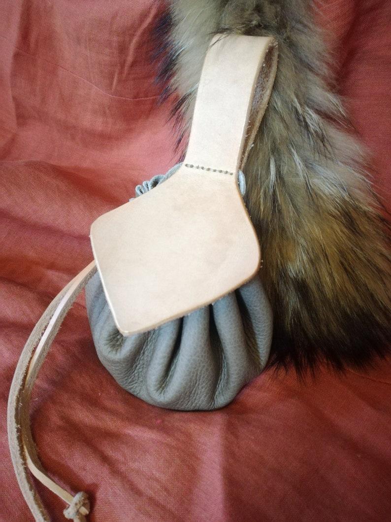 Coin Purse Pouch Belt Bag Medieval Celtic Viking Fantasy Costume Larp Sca RPG