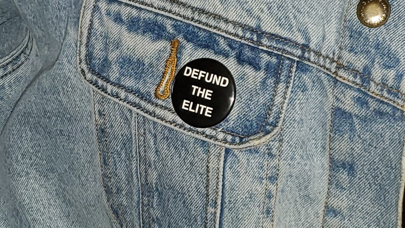 bottle openers key chains Defund the Elite pinback buttons refrigerator magnets
