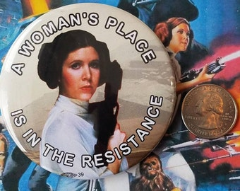 Star Wars Resistance FREE BUTTON when you order a magnet special