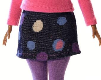 Handmade clothes for Barbie Curvy (skirt): Gita