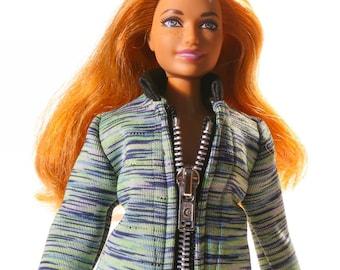 Handmade clothes for Barbie Curvy (jacket): Celu