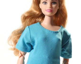 Handmade clothes for Barbie Curvy (t-shirt): Oliver