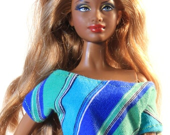 Handmade clothes for Barbie (blouse): Norma