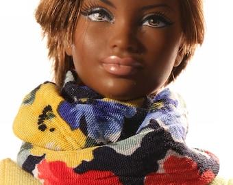 Doll clothes (scarf): Tarka