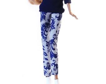 Handmade clothes for Barbie (pants): Baboca
