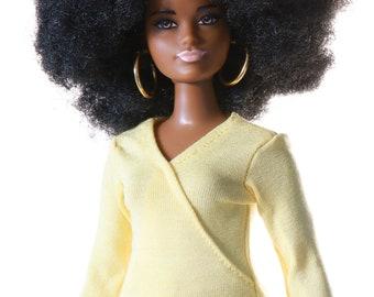 Handmade clothes for Barbie Curvy (bluse): Bayo