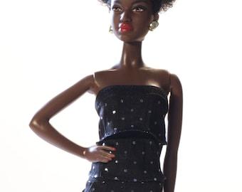 Handmade clothes for Barbie (Top): Cintia