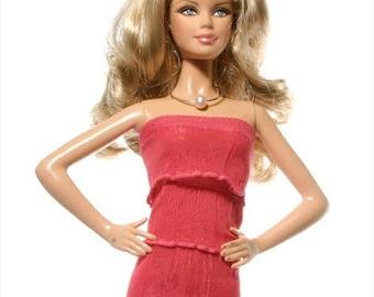 Handmade clothes for Barbie (dress): Ananke