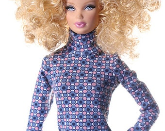 Handmade clothes for Barbie (sweater): Tende