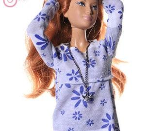 Handmade clothes for Barbie (blouse): Moni