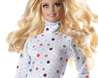 Handmade clothes for Barbie (sweater): Tanel