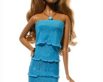 Handmade clothes for Barbie (dress):  Aphrodite