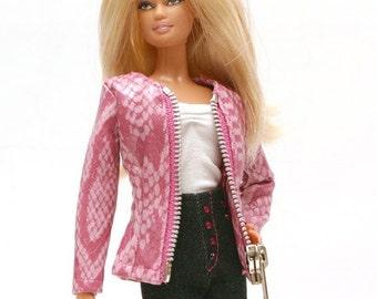 Handmade clothes for Barbie (jacket): Benne