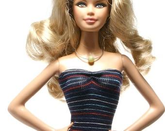 Handmade clothes for Barbie (Top): Amanda