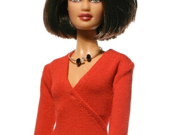 Handmade clothes for Barbie (blouse): Rachel
