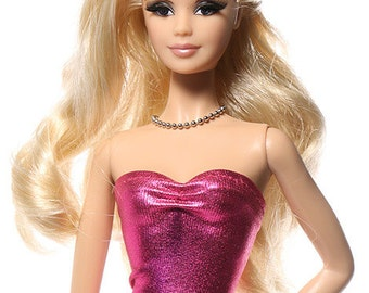 Handmade clothes for Barbie (Top): Charlotte