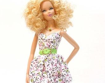 Handmade clothes for Barbie (dress): Polett