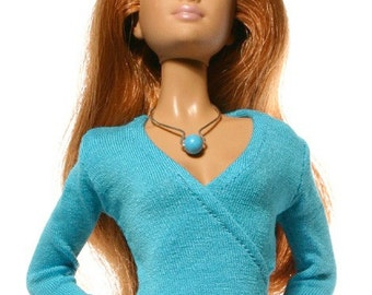 Handmade clothes for Barbie  (blouse): Rebeca