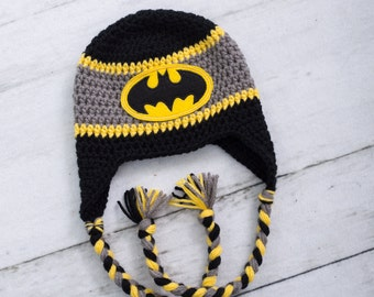 a81f22c45db batman inspired hat baby boy batman hat boy batman hat newborn photo prop  newborn photo little boy hat toddler boy hat