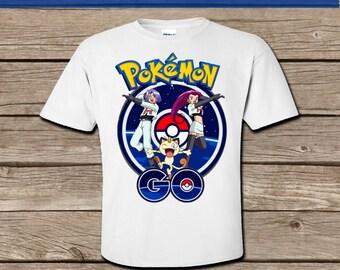 0004c3b2 Pokemon Go Team Rocket Tshirt transfer! Digital Download! Printable Tshirt  image! Iron on