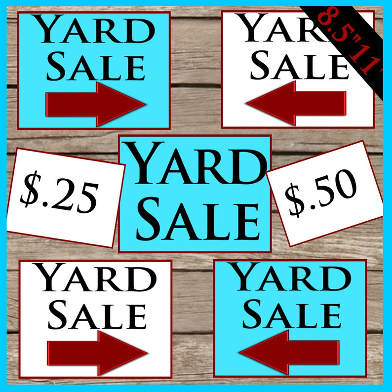 graphic about Printable Sale Tags called Printable Backyard garden Sale Indications! Electronic Obtain! Printable Back garden Sale Cost Tags!
