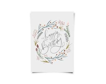 Happy Birthday - Greeting Card