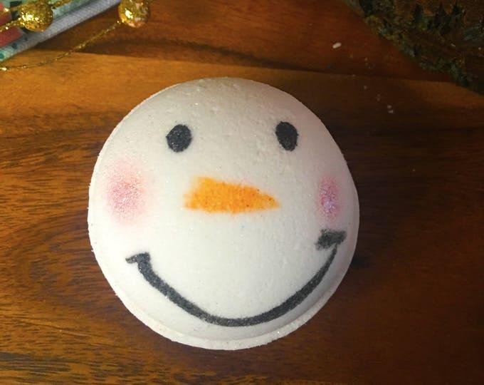 Frosty Weather Bath Bombs - Vegan Bath Bomb Natural Bath Fizzy Sweater Weather Stocking Stuffer Christmas Gifts