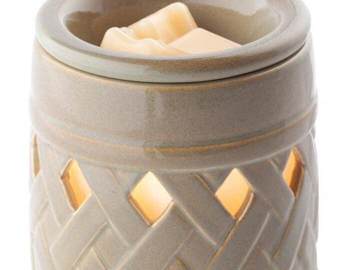 Ceramic Illumination Tart Warmer - Lattice-