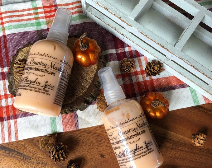 Leave in Conditioner - Frosted Pumpkin Spice - Scent- 99% Natural - Handmade