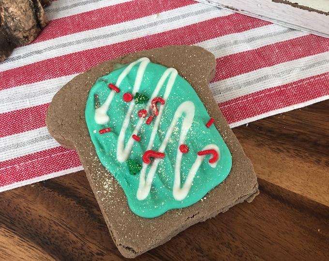 Elf Nog - Elf Bread Solid Bubble Bath Natural Bubble Bar Vegan- Fall