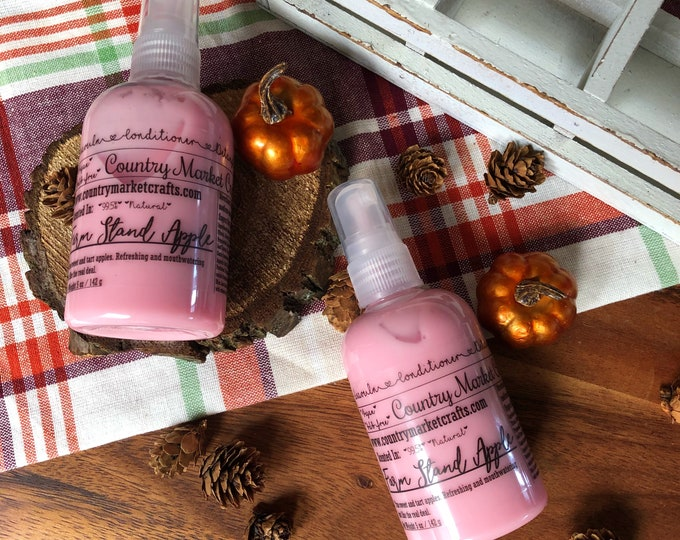 Leave in Conditioner - Farm Stand Apple - Scent- 99% Natural - Handmade
