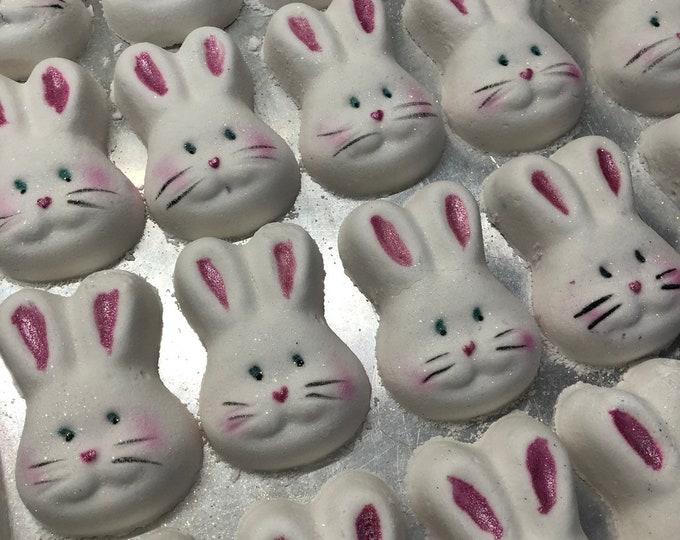 Razzle Dazzle Rabbit - Easter- Bunny -Bath Bomb - Vegan Bath Bomb Natural Bath Fizzy Rainbow  - Jumbo Size - Easter Gift