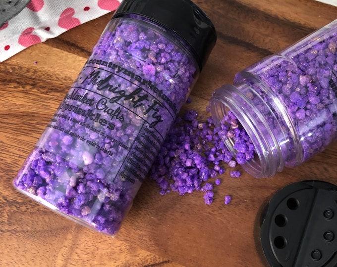 Midnight Fig - Bubble Bath Sprinkles - Bubbling Salt Soak - Vegan Friendly Bubble Bath- Stocking Stuffers