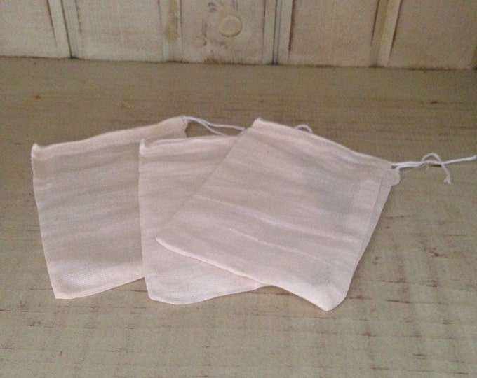 Muslin Bags - Make the most of your Bubble Bars-