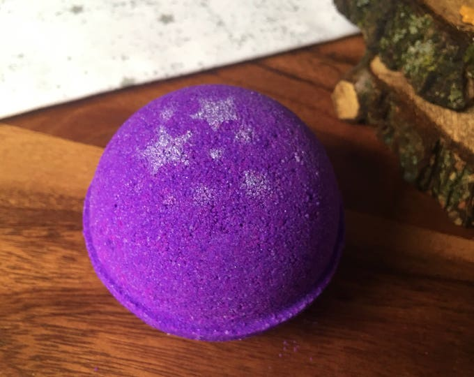 Sleepy Time Bath Bombs Lavender Chamomile Scent Natural Handmade Bath Fizzy-