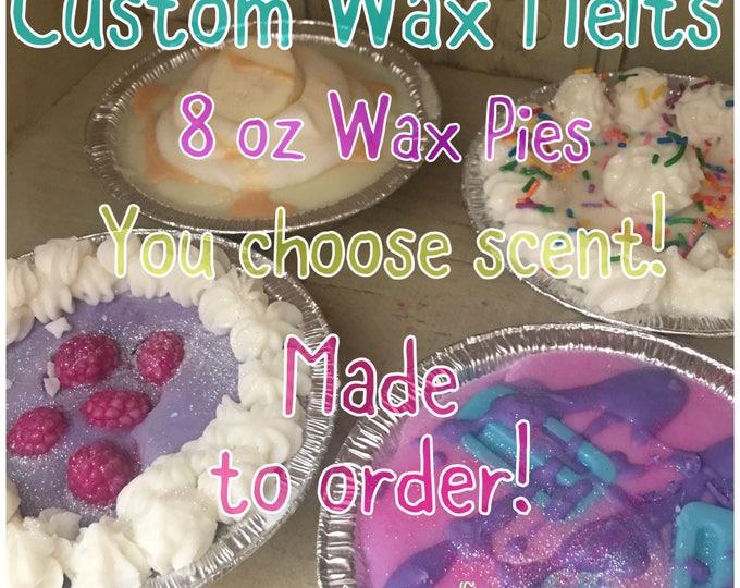Custom Soy Wax Coconut Blend Melt  - Wax Pies - You Choose Scent Wax Melts-