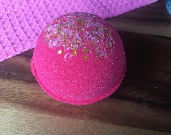 Peach Bellini Bath Bombs Bath Vegan Bath Bomb Natural Bath Fizzy