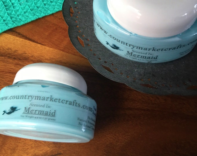 Mermaid Body Soufflé Hand & Body Lotion Natural Handmade lotion-
