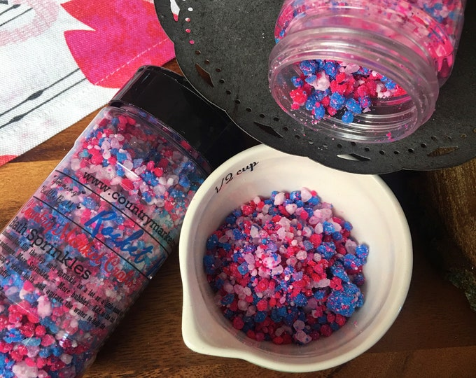 Rocket Pop - Bubble Bath Sprinkles - Bubbling Salt Soak - Vegan Friendly Bubble Bath