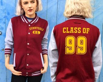 Buffy the Vampire Slayer Varsity Jacket | Sunnydale High Class of 99 Design