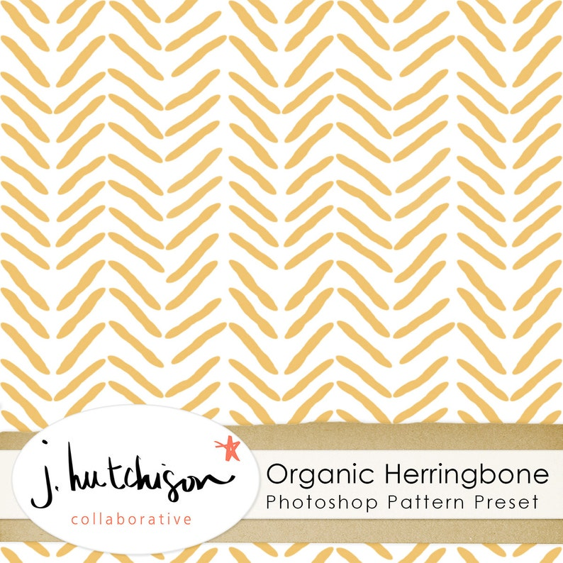 Commercial Use Instant Download Herringbone Photoshop Pattern, Tiled +  Seamless Grayscale