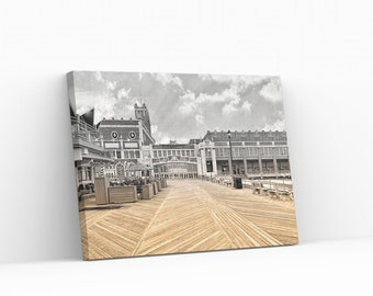 Convention Hall Print On Canvas