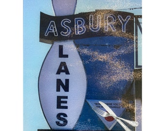 Asbury Lanes Glass Cutting Board