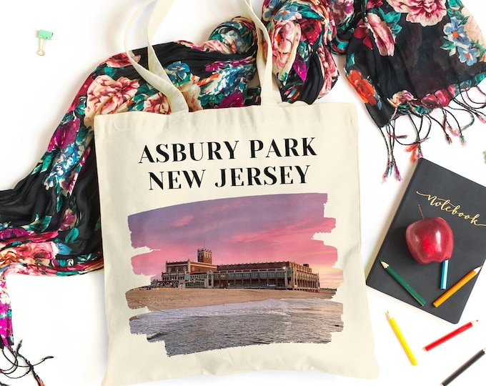Featured listing image: Asbury Park Linen Tote - Double Sided